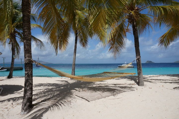 palm island grenadines beach