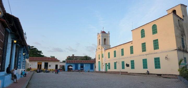 plaza san juan de dios in camaguey cuba