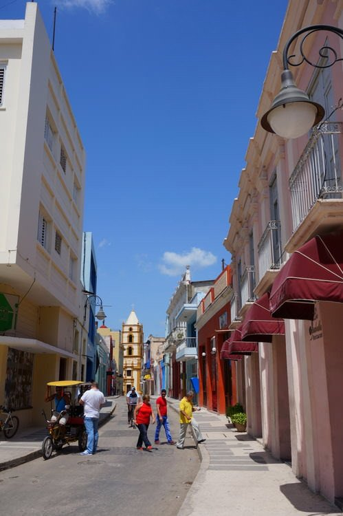 Street Camaguey Cuba