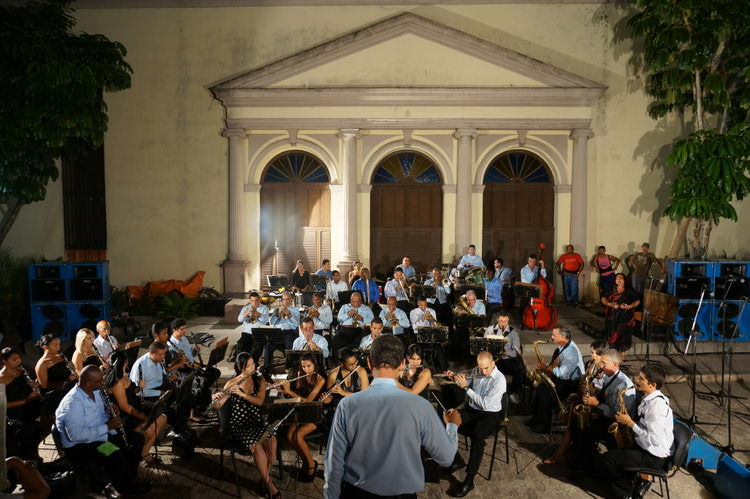 Plaza music Camaguey Cuba