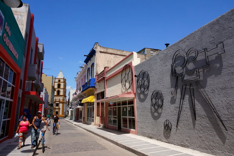 Theatre Street Camaguey Cuba