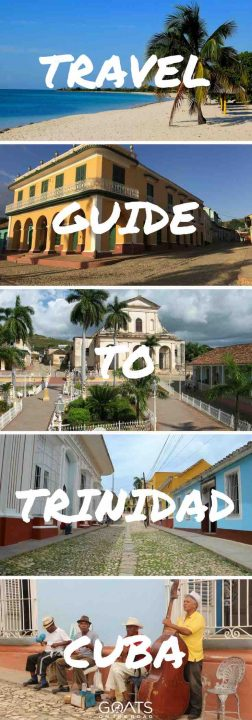 Cuban architecture with text overlay Travel Guide To Trinidad Cuba
