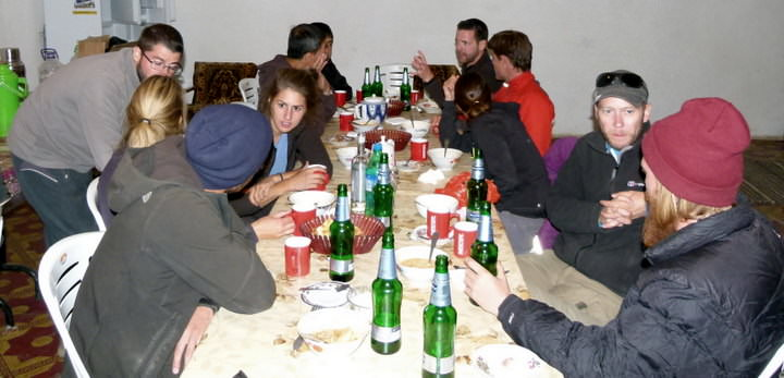 backpackers in tajikistan