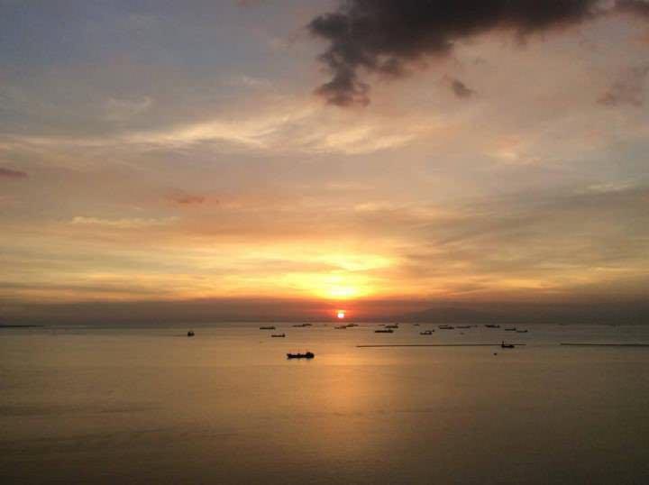 sunset philippines