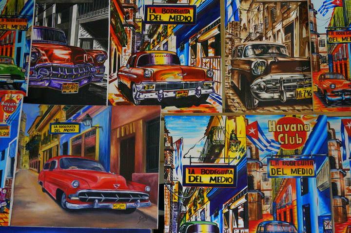 cuban paintings cuba