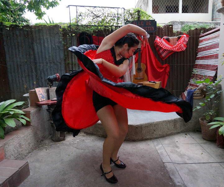 flamenco dancing cienfuegos