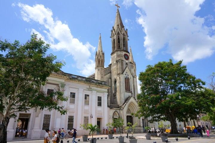 Camagüey cathedral cuba