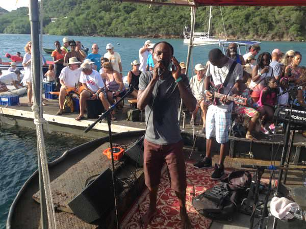 dingy concert in grenada