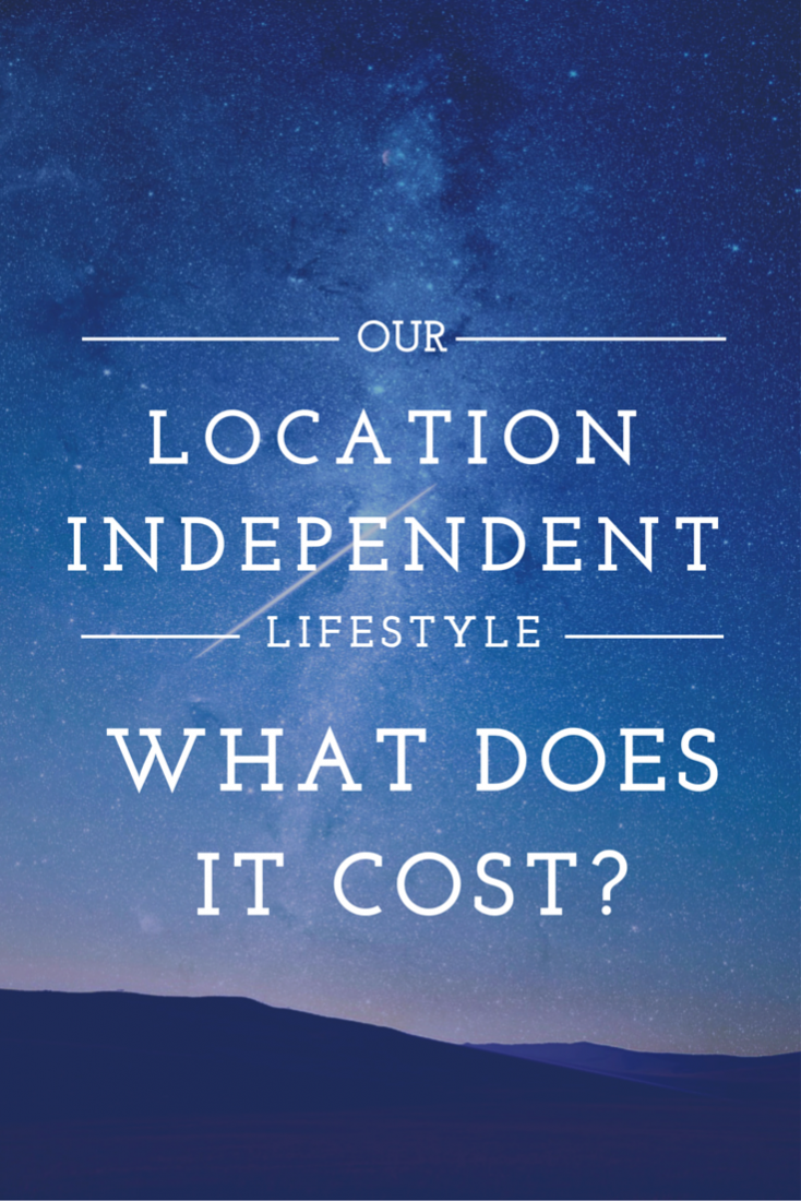 Our location independent lifestyle: What does it cost?