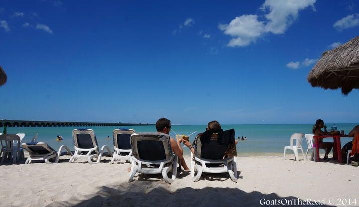 progreso beach mexico