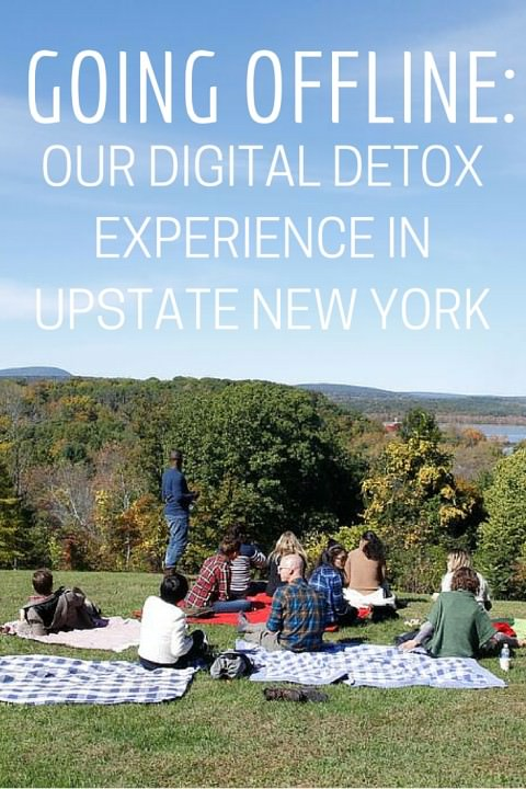 Going Offline- Our Digital Detox Experience in Upstate New York