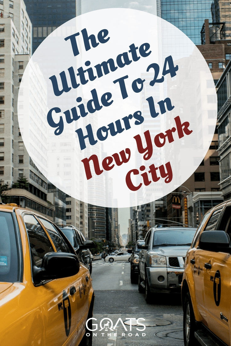 new york with text overlay the ultimate guide to 24 hours in new york city