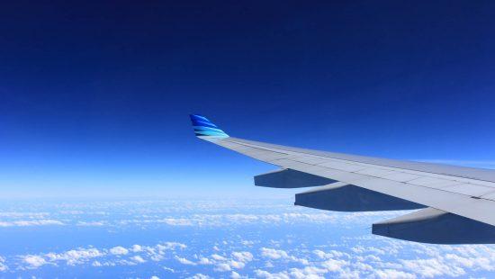 Onward flights plane wing