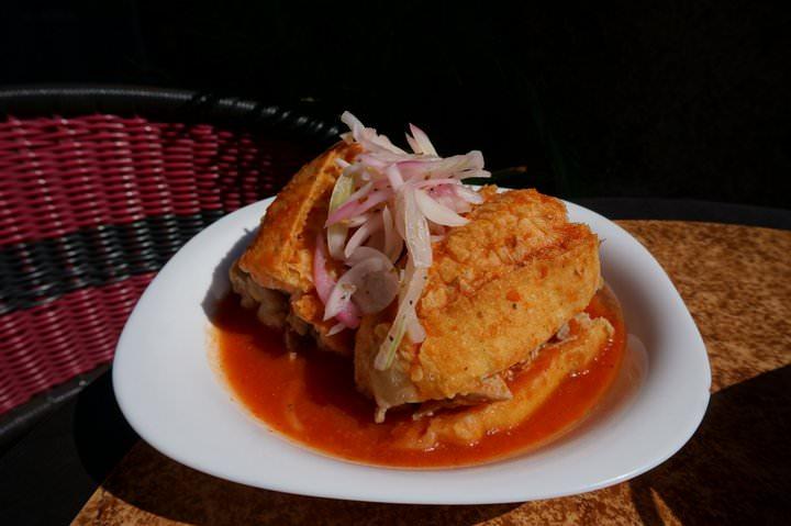 torta ahogada mexico in guadalajara