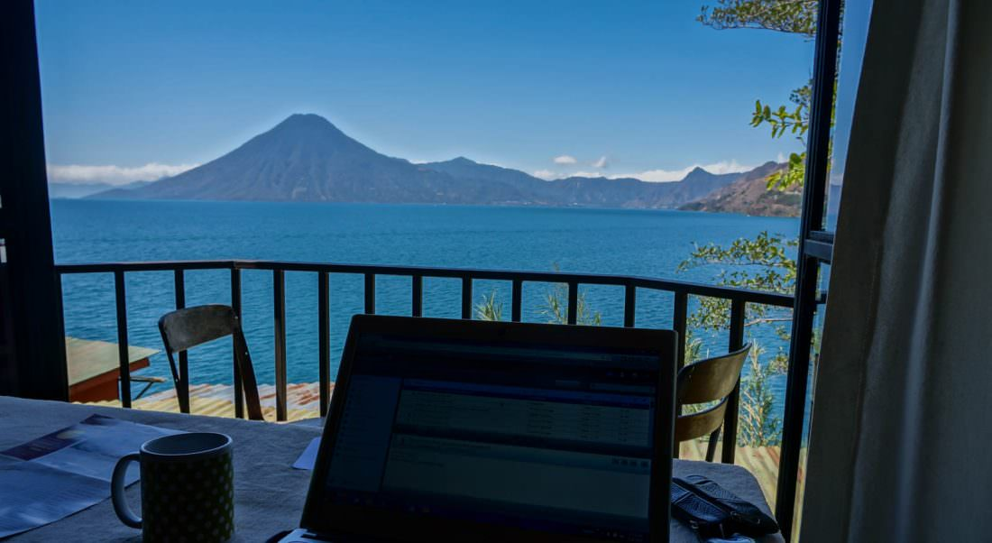 living in guatemala as a travel blogger while getting paid to travel