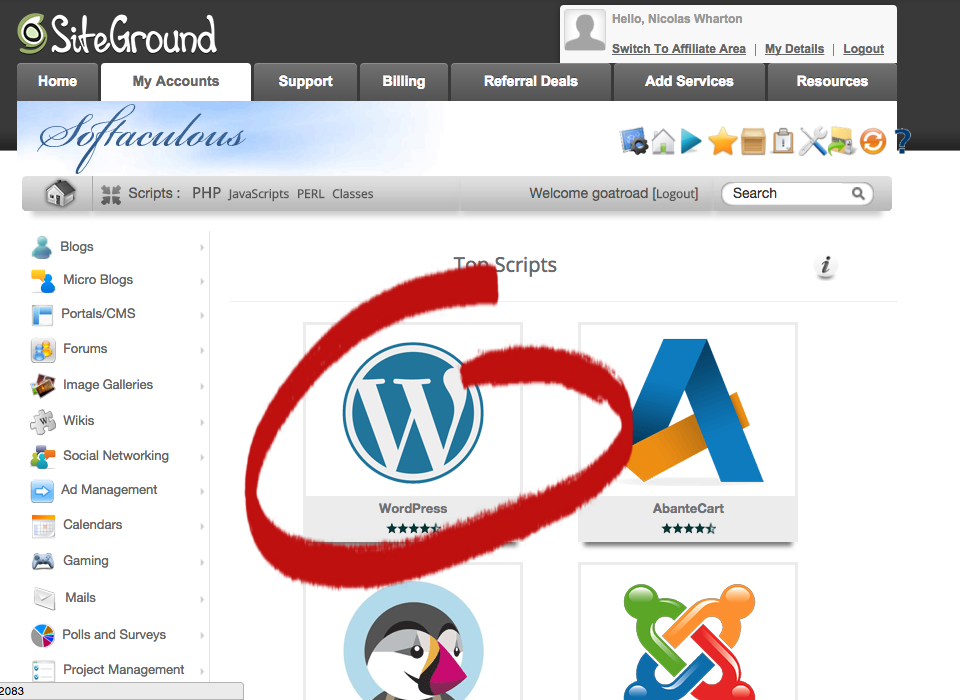 Start A Blog From Scratch WordPress