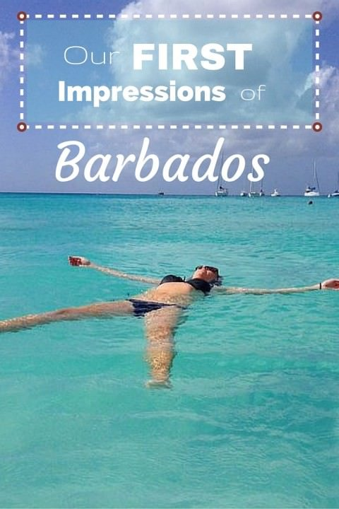 our first impressions of barbados