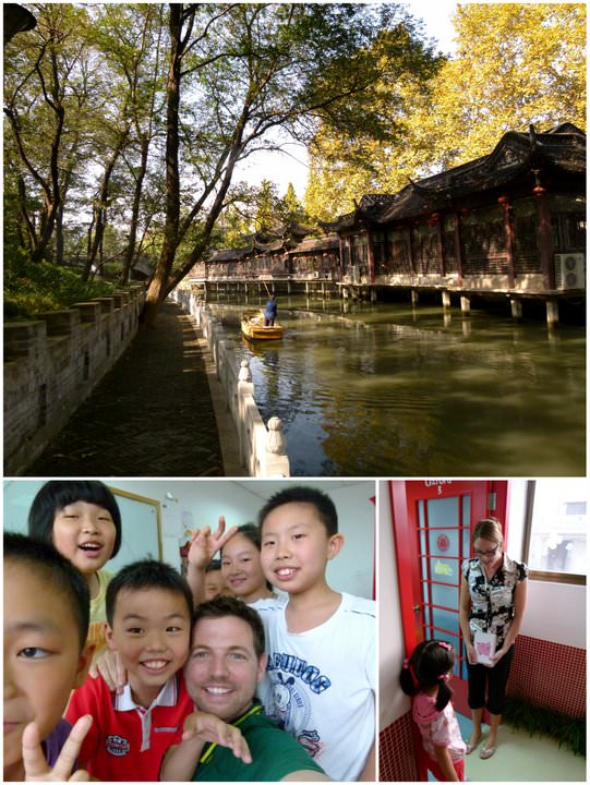 teaching english in yangzhou