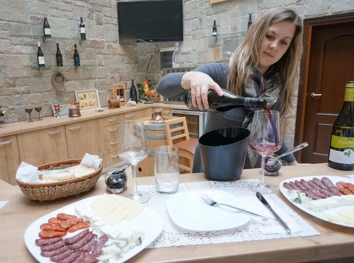 villa yustina winery plovdiv bulgaria
