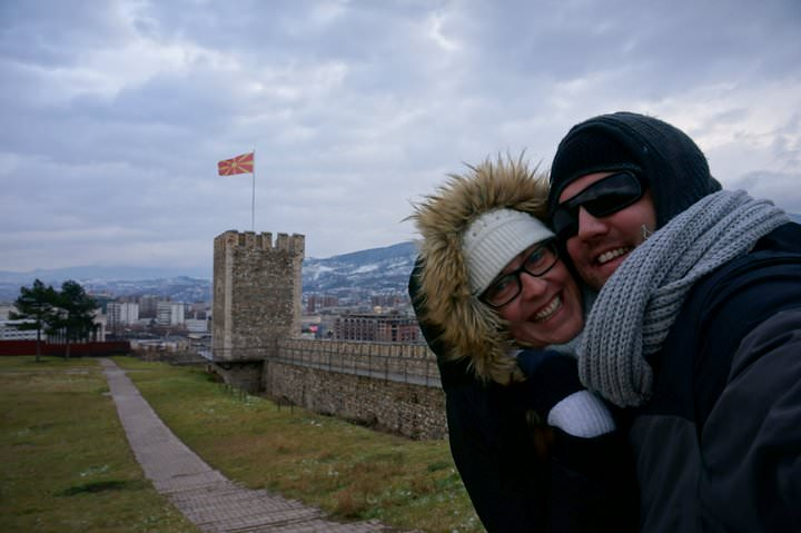 fort in skopje macedonia