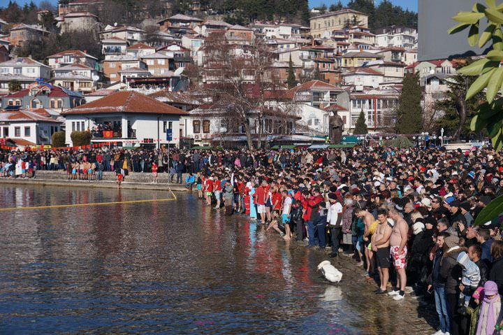 epiphany on lake ohrid macedonia