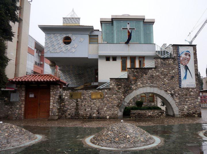 mother teresa house in skopje macedonia