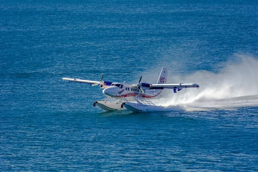 european coastal airways float plane split croatia