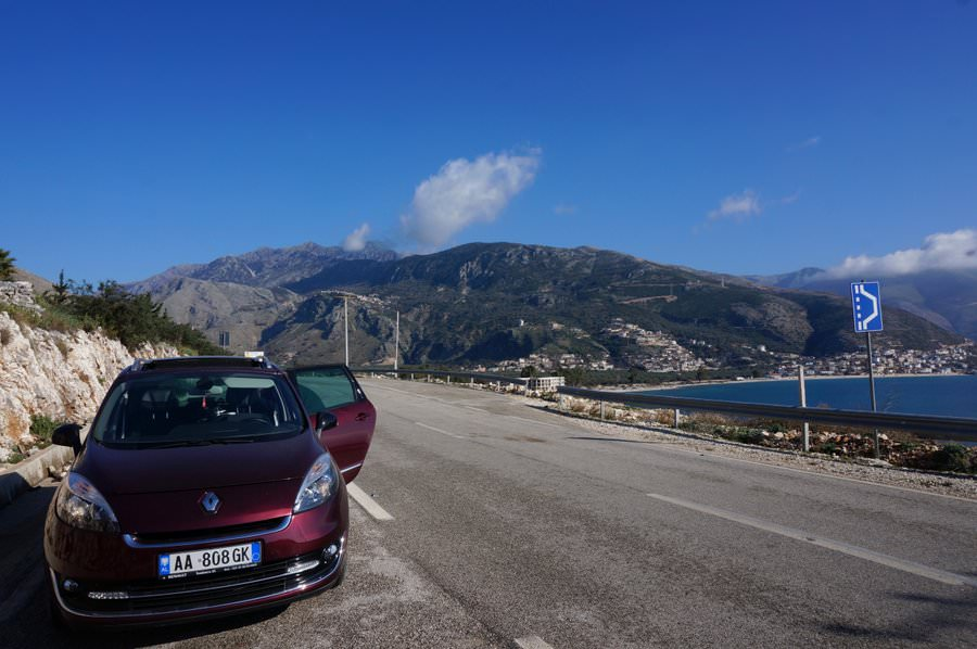 driving in albania renting a car