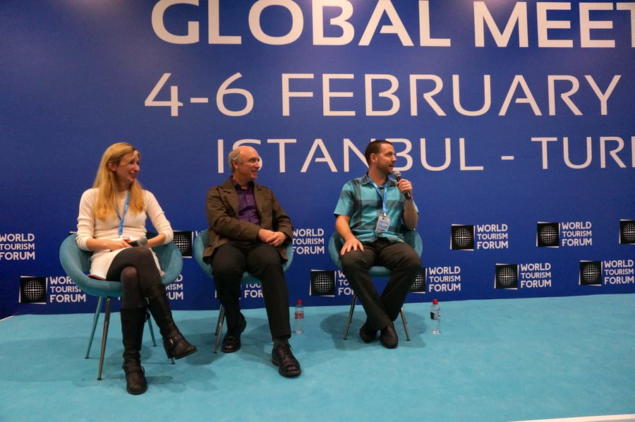 travel blogger panel world tourism forum
