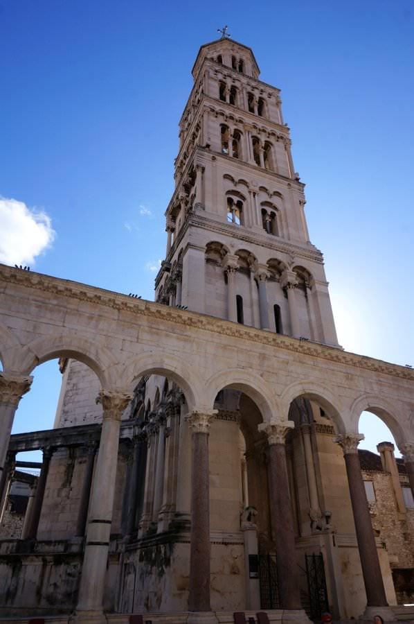 cathedral of st. domnius split croatia