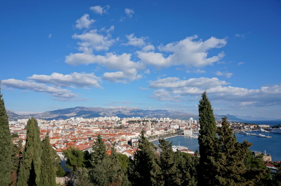 what to see and do in split croatia. hike the marjan hill