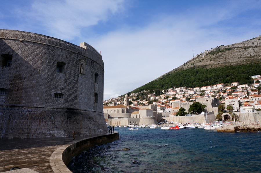 traveling to dubrovnik croatia