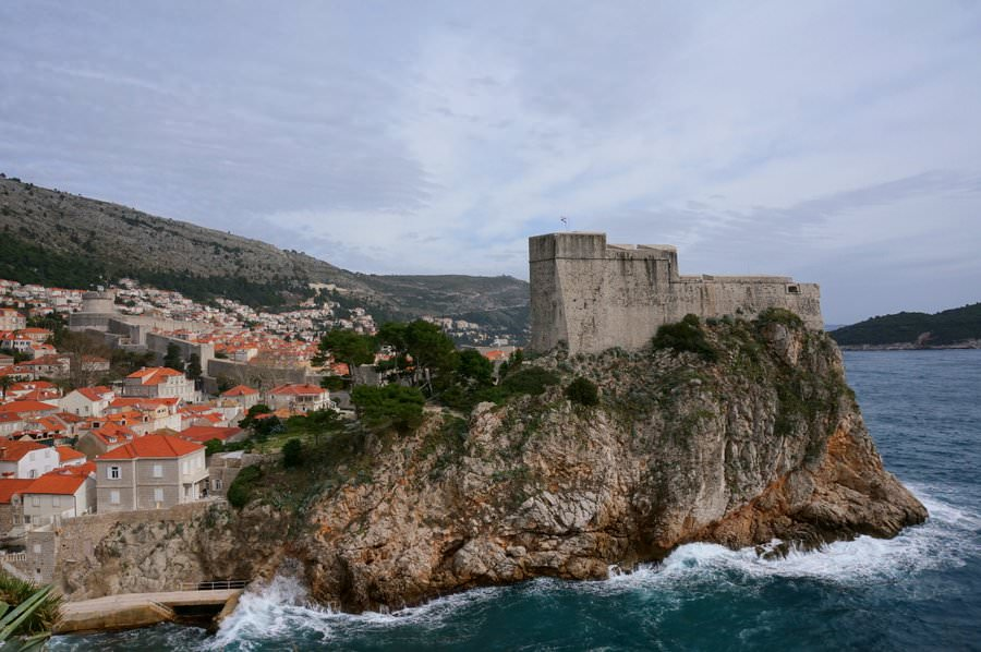 dubrovnik croatia fort