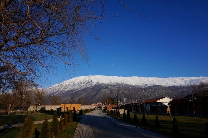 sveti naum monastery lake ohrid