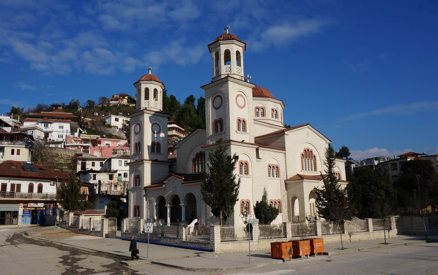 Dormition Cathedral in Berat