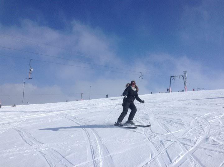 skiing in macedonia at mavrovo national park