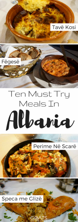 Ten Must Try Meals In Albania
