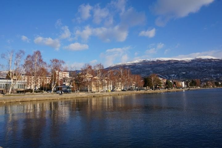 travel to lake ohrid macedonia