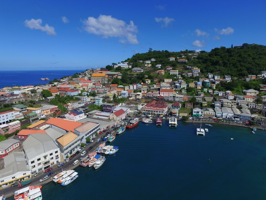 things to do in grenada visit the capital of St. Georges