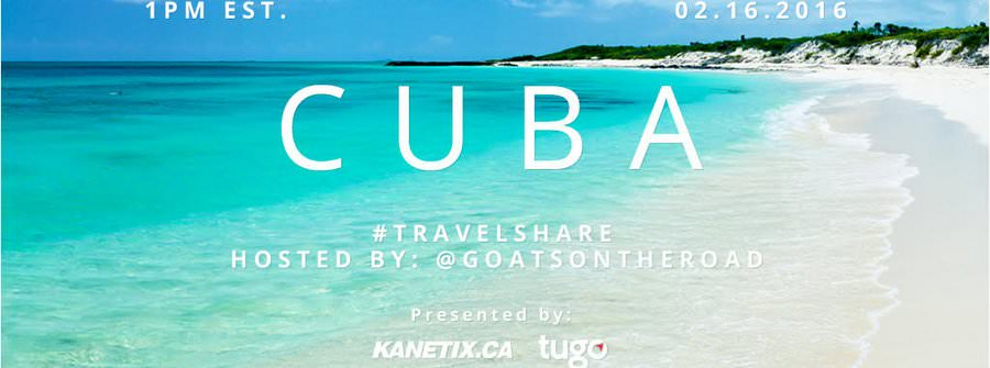 travel share twitter chat cuba