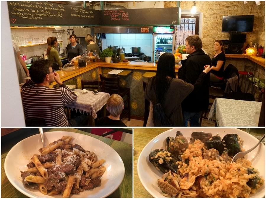 where to eat in split croatia villa spiza