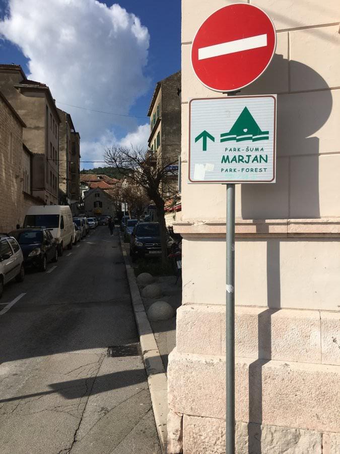 marjan hill in split croatia