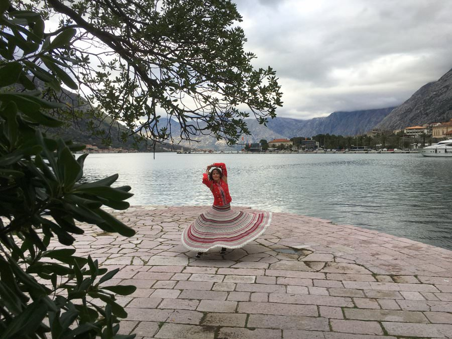 travelling to montenegro
