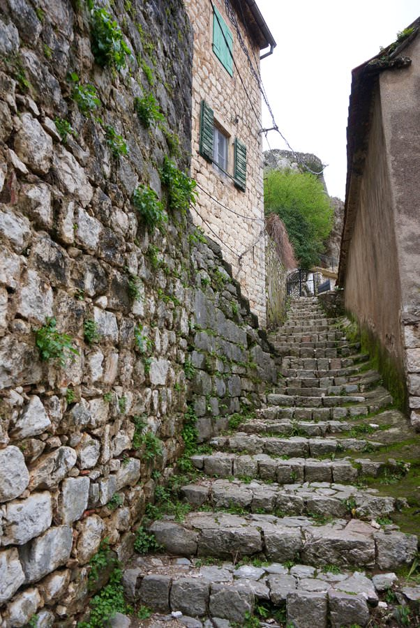 travel to montenegro bay of kotor hike