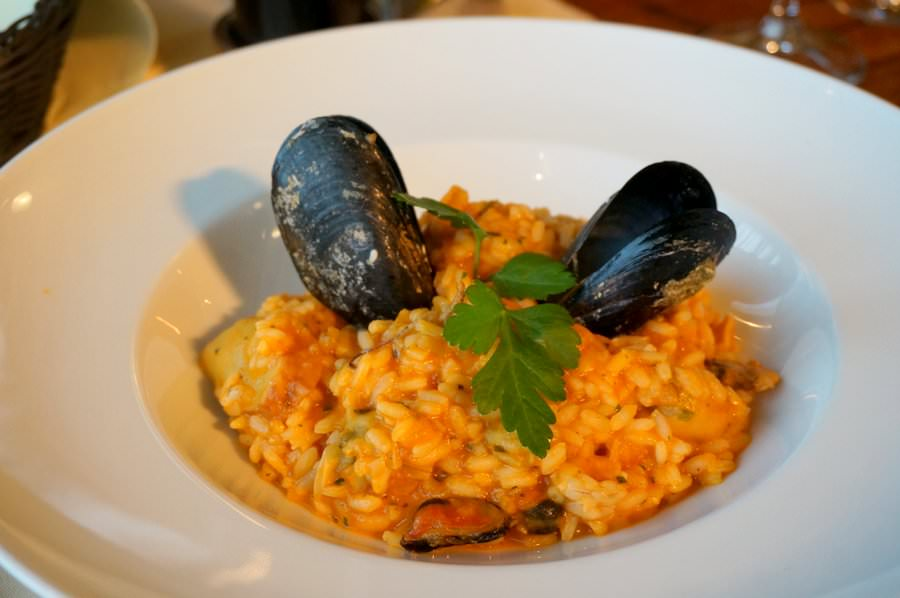 Seafood Risotto Dubrovnik