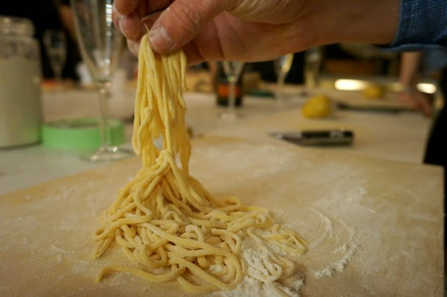 pasta making class in italy