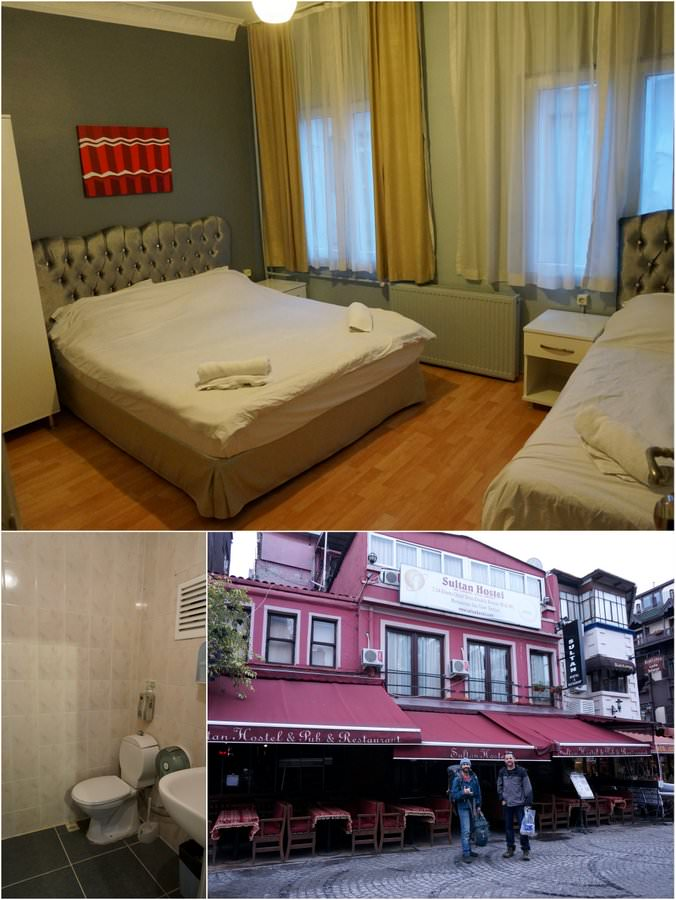 where to stay in istanbul sultan hostel