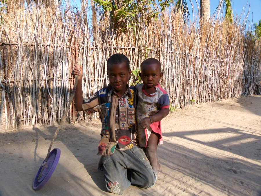 kids on ibo island