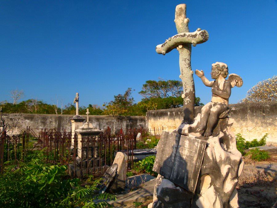 cemetery ibo island