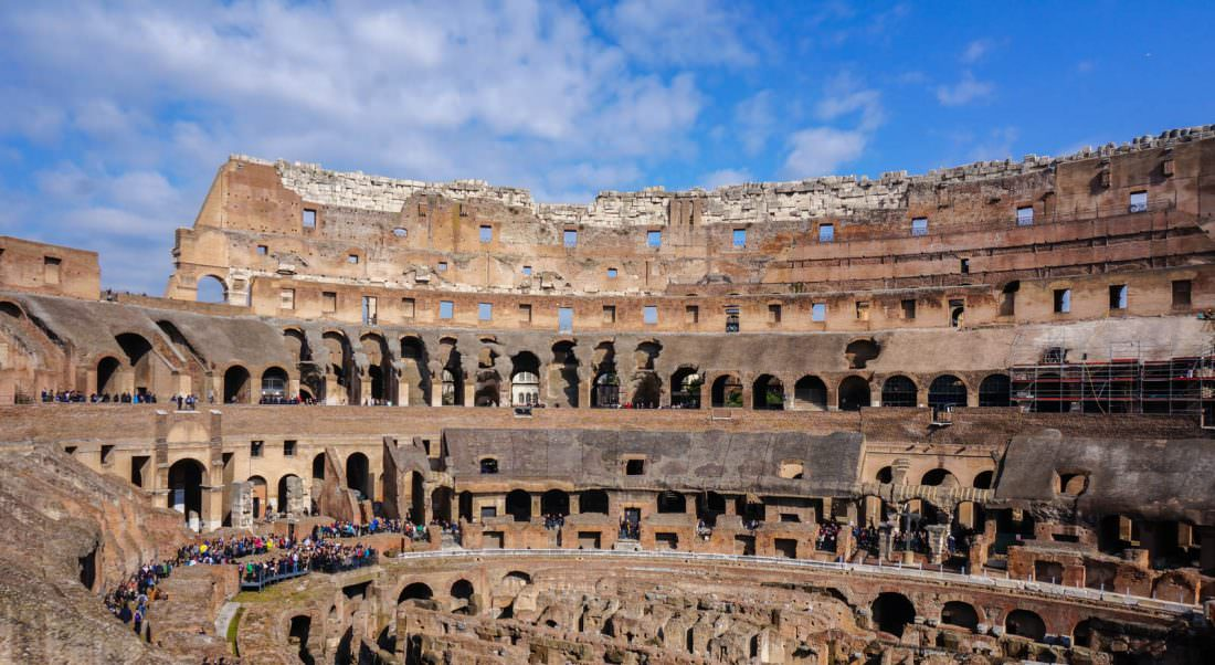 rome is one of the best places to visit in italy don't miss the colosseum